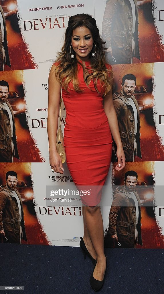 Layla Flaherty attends the world premiere of 'Deviation' at Odeon Covent Garden on February 23, 2012 in London, England.