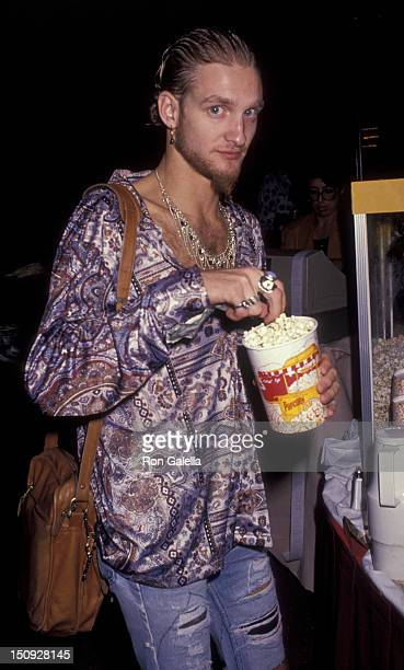 Layne Staley attends Foundation Awards Party on October 3 1991 at the Airport Marriott Marquis Hotel in Los Angeles California