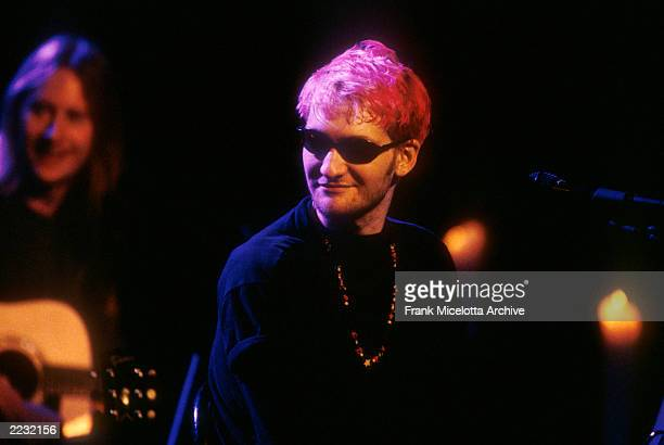 Layne Staley lead singer of Alice In Chains performing on MTV Unplugged in 1996 Photo by Frank Micelotta/Getty Images