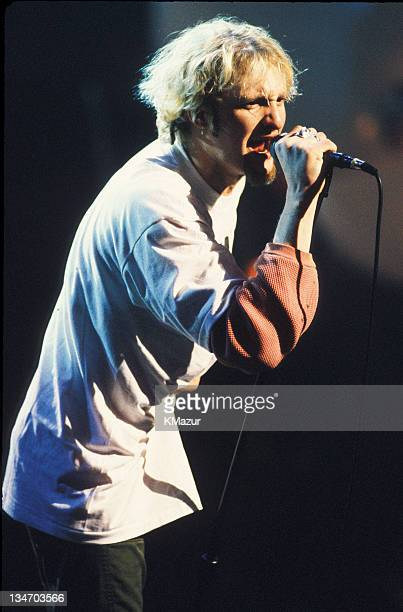 Layne Staley of Alice in Chains during Layne Staley Of Alice In Chains File Photos Early 1990s in Los Angeles California United States