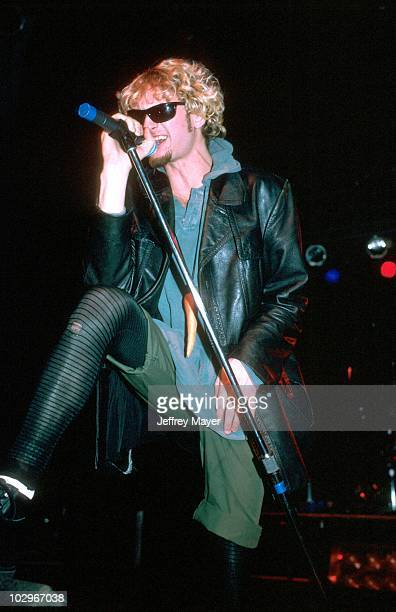 Layne Staley with Alice in Chains performing in Los Angeles CA December 1992