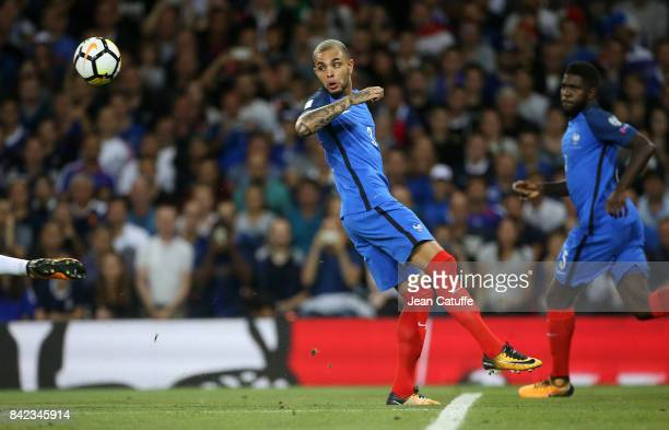 Layvin Kurzawa of France during the FIFA 2018 World Cup Qualifier between France and Luxembourg at the Stadium on September 3 2017 in Toulouse France