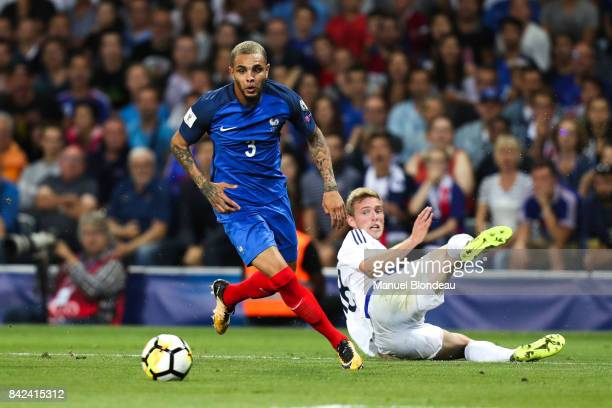 Layvin Kurzawa of France during the Fifa 2018 World Cup qualifying match between France and Luxembourg at on September 3 2017 in Toulouse France