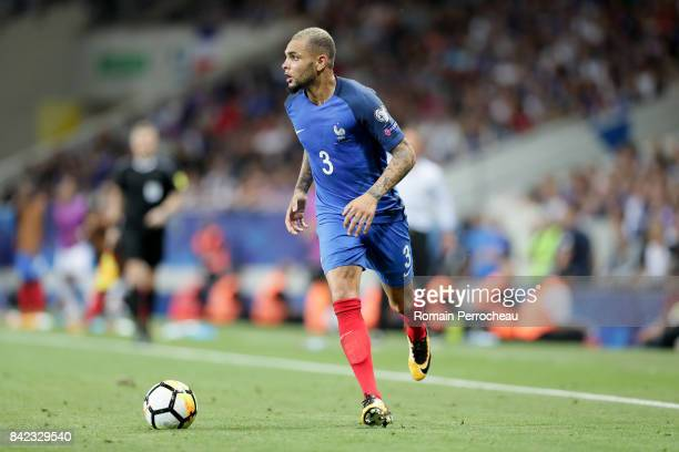 Layvin Kurzawa of France in action during the FIFA 2018 World Cup Qualifier between France and Luxembourg at Stadium on September 3 2017 in Toulouse...