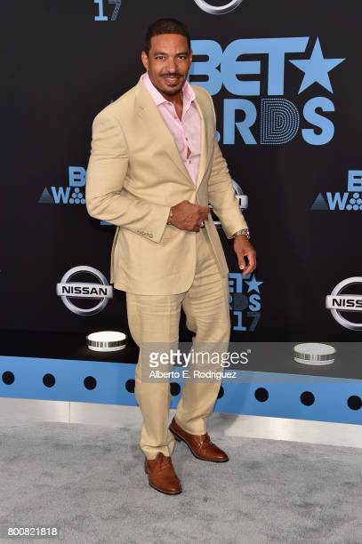 Laz Alonso at the 2017 BET Awards at Microsoft Square on June 25 2017 in Los Angeles California