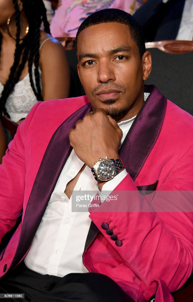 Laz Alonso attends Black Girls Rock! 2017 at NJPAC on August 5, 2017 in Newark, New Jersey.