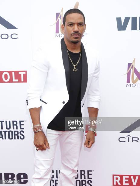 Laz Alonso attends Culture Creators 2nd Annual Awards Brunch Presented By Motions Hair And Ciroc at Mr C Beverly Hills on June 24 2017 in Beverly...