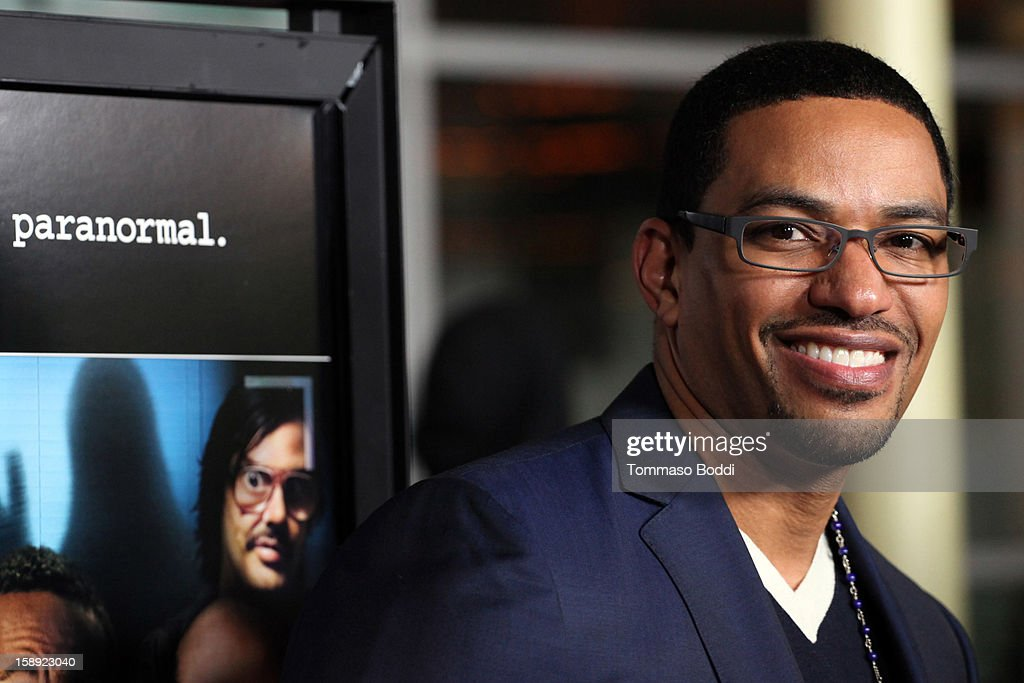 Laz Alonso attends the 'A Haunted House' Los Angeles premiere held at the ArcLight Hollywood on January 3, 2013 in Hollywood, California.
