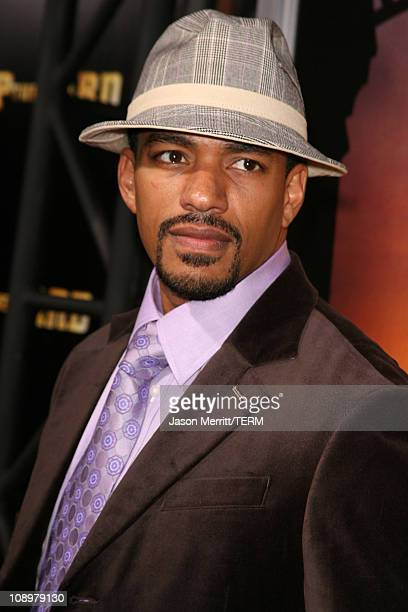Laz Alonso during 'Stomp The Yard' Premiere Red Carpet at Cinerama Dome in Hollywood California United States