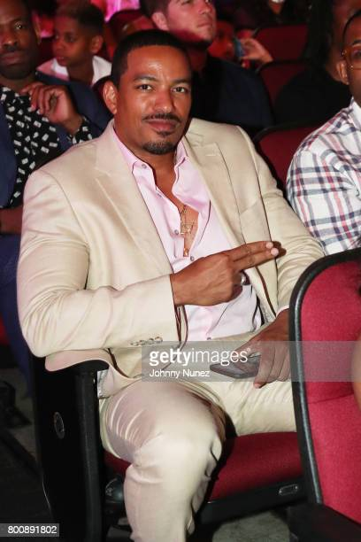 Laz Alonso onstage at 2017 BET Awards at Microsoft Theater on June 25 2017 in Los Angeles California