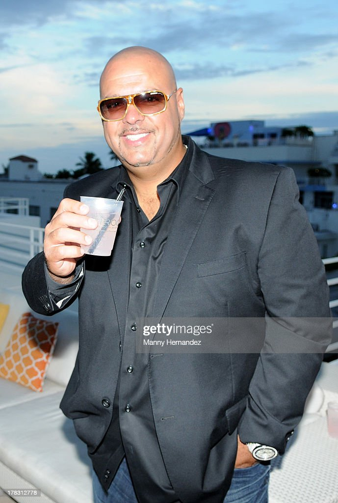 DJ Laz attends the CIROC Amaretto Launch Event at Dream Hotel South Beach on August 27, 2013 in Miami, Florida.