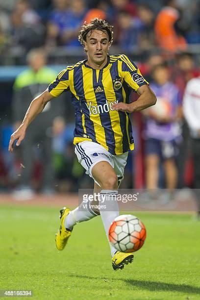 Lazar Markovic of Fenerbahce during the Super Lig match between Kasimpasa SK and Fenerbahce on September 13 2015 at the Recep Tayyip Erdogan stadium...