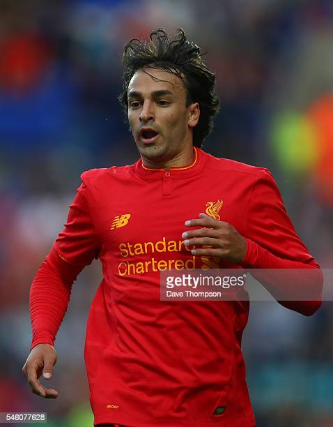 Lazar Markovic of Liverpool during the PreSeason Friendly match between Tranmere Rovers and Liverpool at Prenton Park on July 8 2016 in Birkenhead...