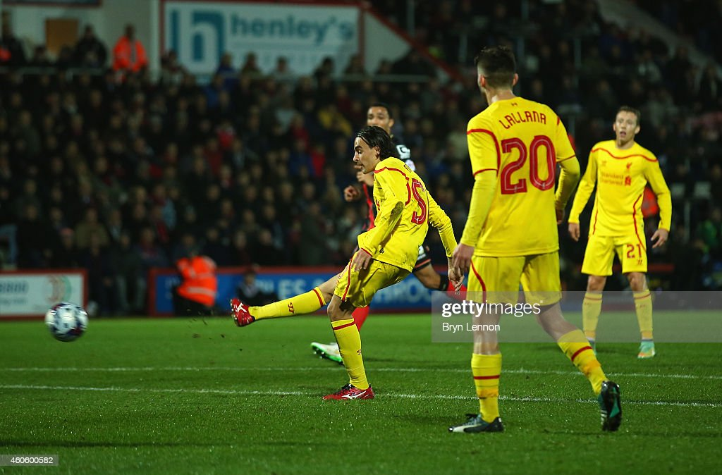 Bournemouth v Liverpool - Capital One Cup Quarter-Final