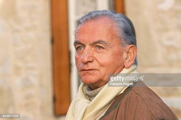 Lazare Iglesis during the filming of his movie 'Le déjeuner de Sousceyrac'