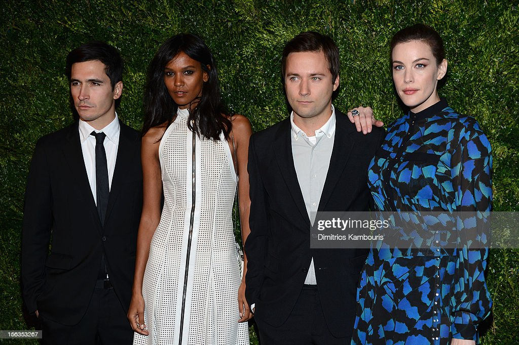 Lazaro Hernandez, , Liya Kebede, Jack McCollough and Liv Tyler attend The Ninth Annual CFDA/Vogue Fashion Fund Awards at 548 West 22nd Street on November 13, 2012 in New York City.