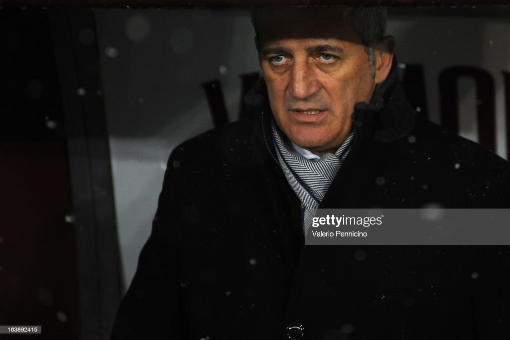 S.S. Lazio head coach Vladimir Petkovic looks on prior to the Serie A match between Torino FC and S.S. Lazio at Stadio Olimpico di Torino on March 17, 2013 in Turin, Italy.