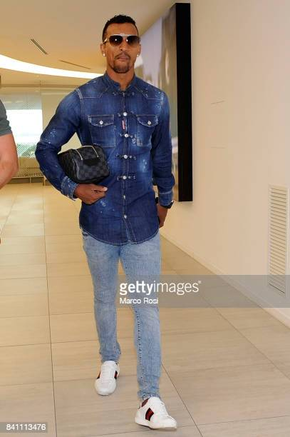 Lazio New Signing Nani arrives at Ciampino Airport on August 31 2017 in Rome Italy
