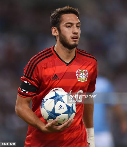 FUSSBALL CHAMPIONS Lazio Rom Bayer 04 Leverkusen Hakan Calhanoglu