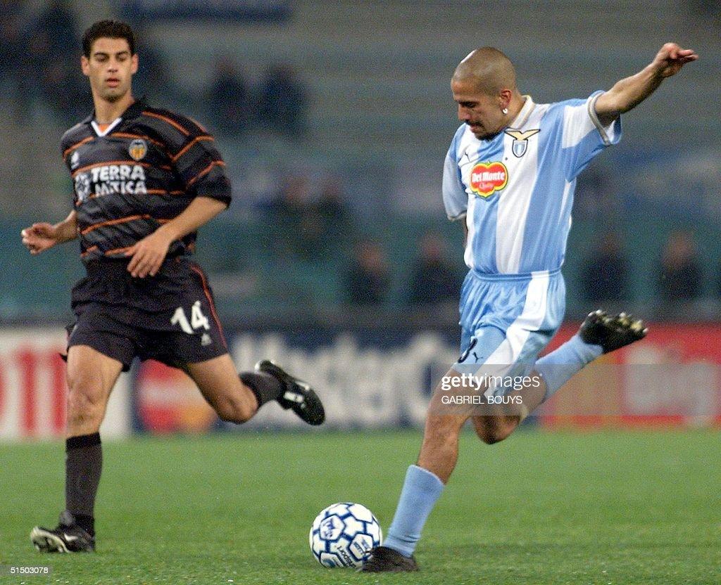Lazio Rome s midfielder Argentinian Juan Sebastian