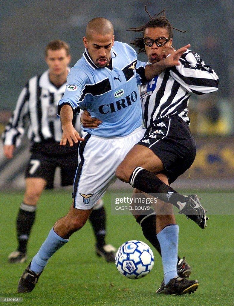 Lazio Rome s mildfielder Argentinian Juan Sebastia