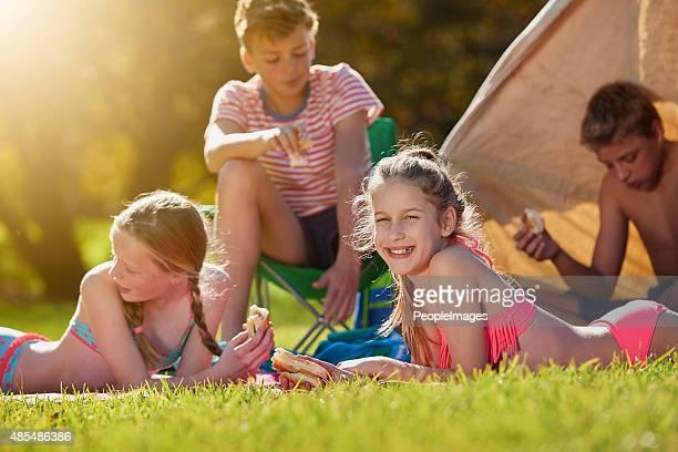 Faule Sommertage, mit meinen Freunden