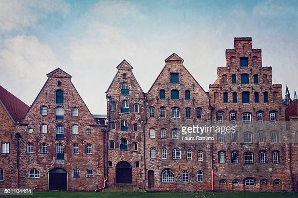 Lübeck cityscape, Germany