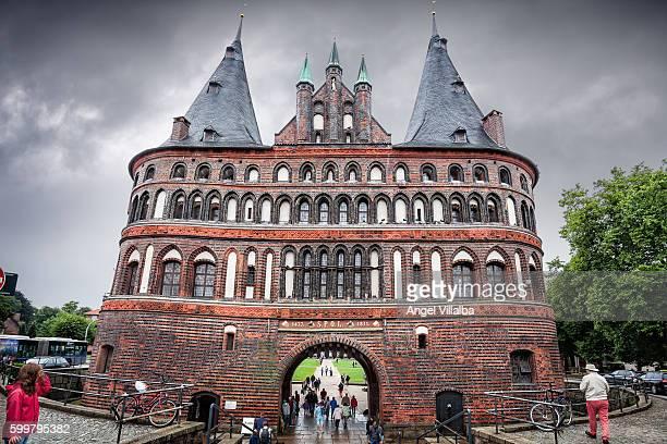 Lübeck. Holsten Gate