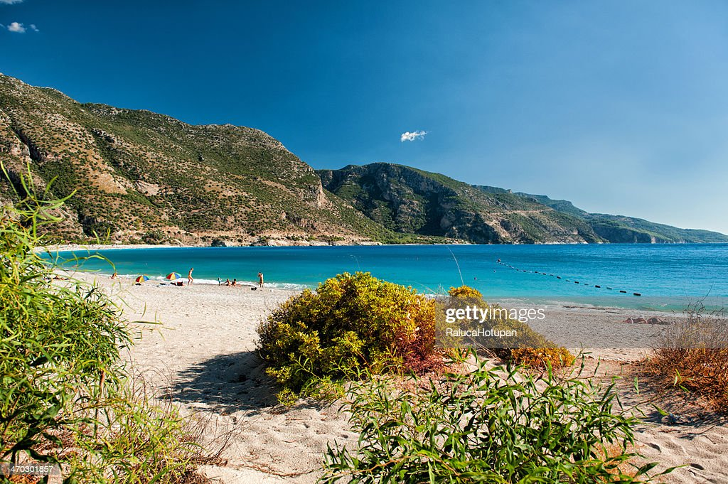 Ölüdeniz Beach Or Blue Lagoon Stock Photo  Getty Images