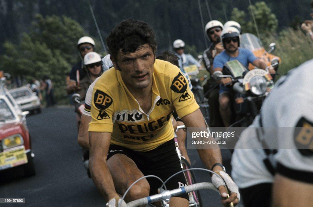 Finish of the Tour de France 1922. Hector Heusghem