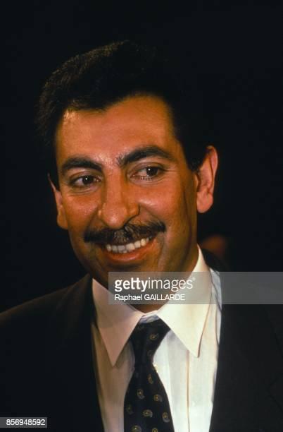 Le capitaine Karim exgarde presidentiel de Saddam Hussein invite a l'emission de televison francaise 'Droit de savoir' anime par Patrick Poivre...
