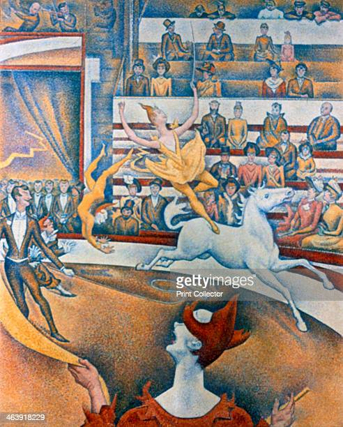 'Le Cirque' 1891 This picture was exhibited in 1891 at the 7th Salon des Independants in Paris During the exhibition Seurat died From the Musee...