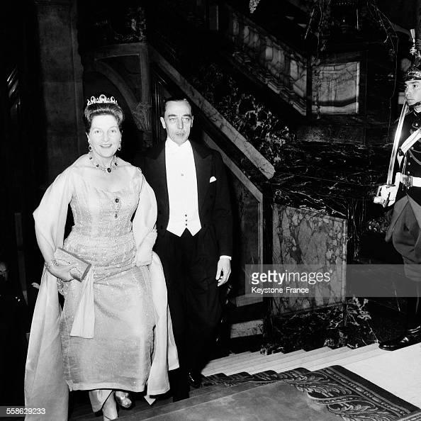 le comte et la comtesse de paris arrivent au bal de la chambre de commerce britannique pictures. Black Bedroom Furniture Sets. Home Design Ideas
