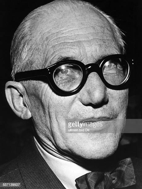 Le Corbusier Architekt Frankreich/Schweiz 1957