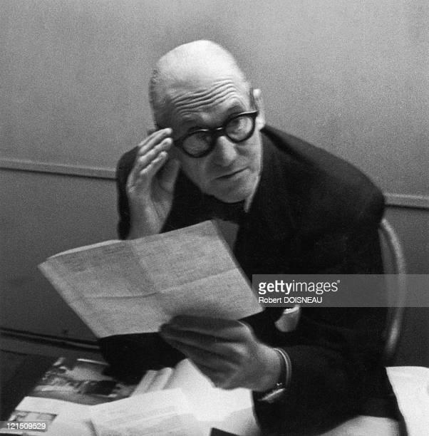 Le Corbusier In 1953
