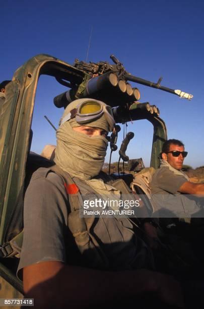 Le COS Commandement des operations speciales lors de l'operation 'Restore Hope' en decembre 1992 en Somalie