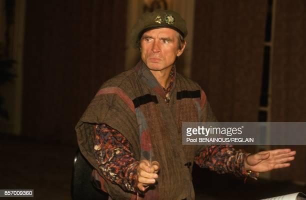 Le danseur et choregraphe Rudolf Noureev au Festival du Cinema Americain le 8 septembre 1991 a Deauville France