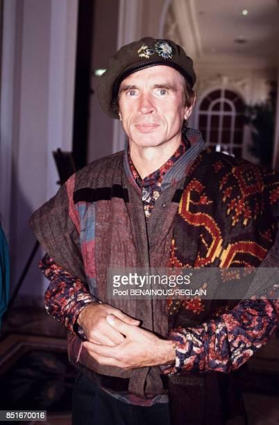 Le danseur Rudolf Noureev à Deauville le 8 septembre 1991 France