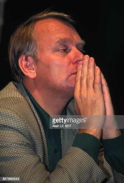 Le deputemaire de Nantes JeanMarc Ayrault le 22 octobre 1994 a Nantes France