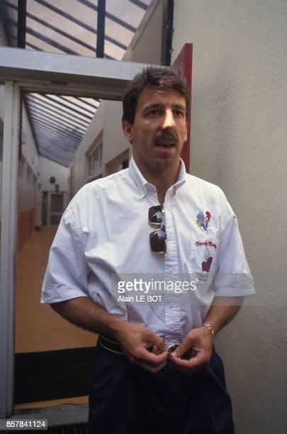 Le footballeur du FC Nantes Zoran Vulic mis en cause par Christophe Robert dans l'affaire du match de football truque VA OM le 30 juin 1993 en France