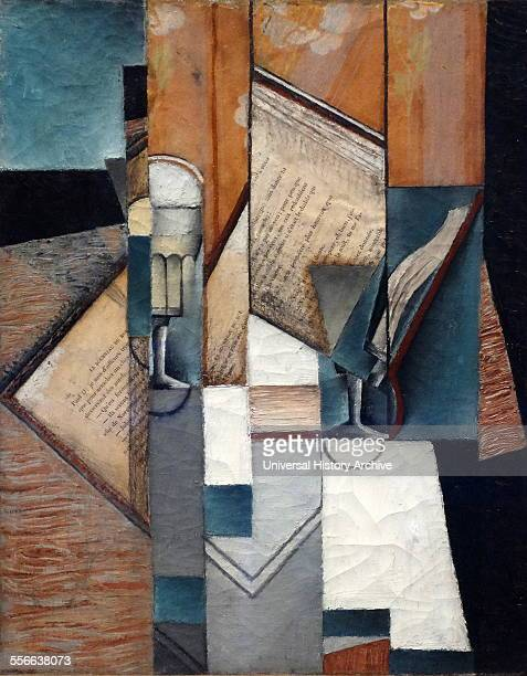 Le Livre 1913 by Juan Gris 18871927 Spanish painter and sculptor born in Madrid who lived and worked in France most of his life Closely connected to...