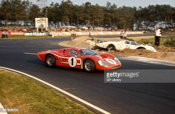 Le Mans 24 Hours Race 11th June 1967 Dan Gurney/A J Foyt Ford Mk IV race winner