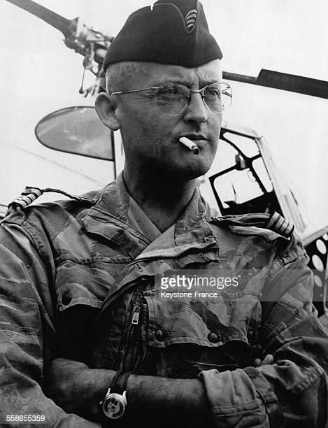 Le médecin combattant Grauwin chirurgien chef de l'antenne de Diên Biên Phu en Indochine le 1 juin 1954