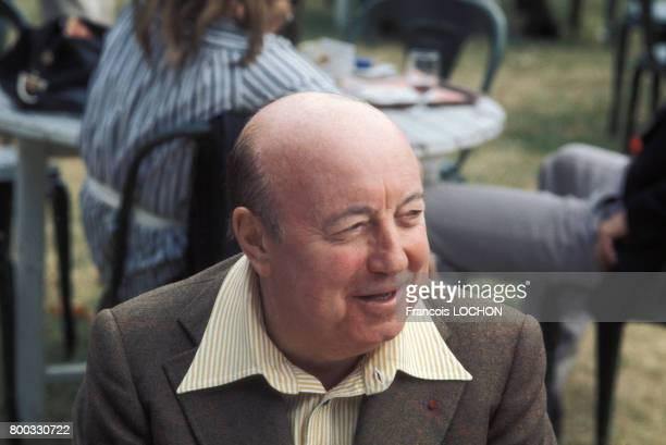 Le metteur en scène Marcel Carné en septembre 1975 à Deauville France