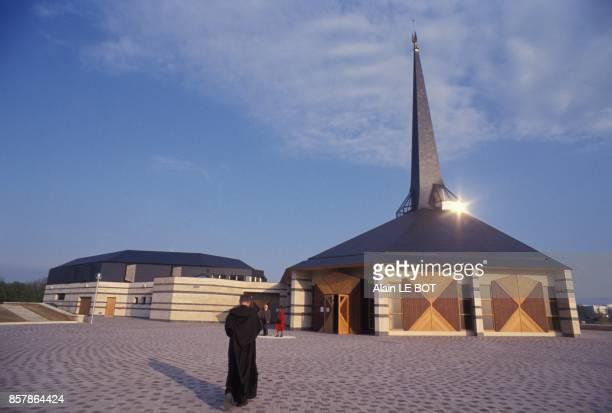 Le monastere des Grands Carmes le 16 avril 1994 a Nantes France