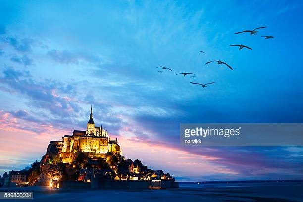 Le Mont Saint-Michel in Normandy