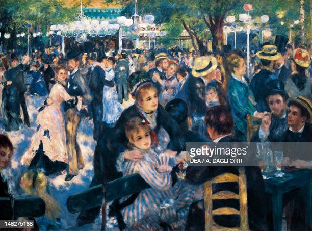 Le Moulin de la Galette by PierreAuguste Renoir oil on canvas 131x175 cm Paris Musée D'Orsay
