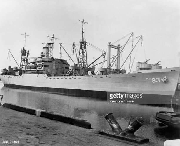 Le navire USS Yancey désigné pour participer à l'expédition Antartique en 1946