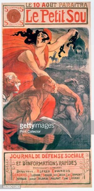 'Le Petit Sou' socialist magazine by Théophile Steinlen 1900 Théophile Alexandre Steinlen frequently referred to as just Steinlen was a Swissborn...