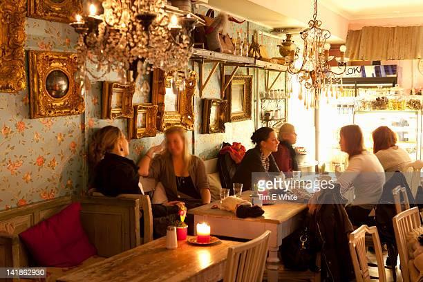 Le Petite cafe, Coffeehouse Gothenburg, Sweden